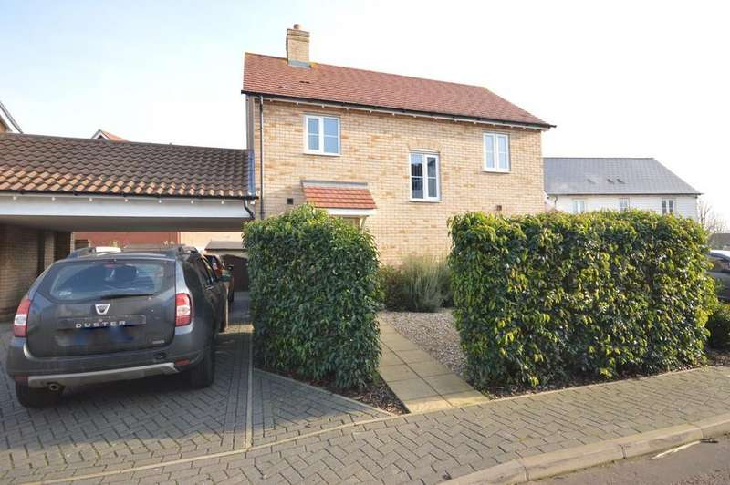 3 Bedrooms Detached House for sale in Lungley Rise, Colchester