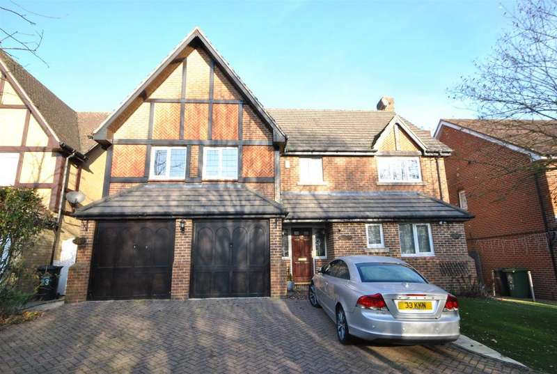 5 Bedrooms Detached House for sale in Gladding Road, West Cheshunt