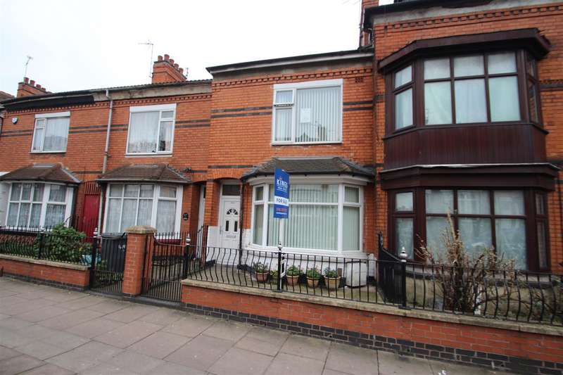 4 Bedrooms Town House for sale in East Park Road, Leicester