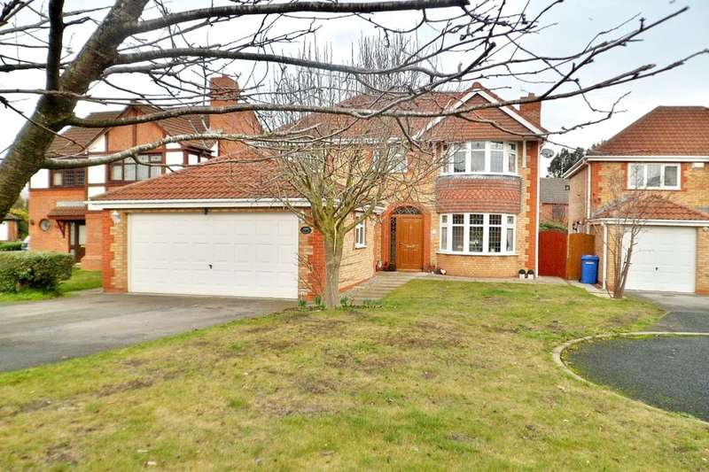 4 Bedrooms Detached House for sale in St. Mellion Crescent, Wrexham, LL13