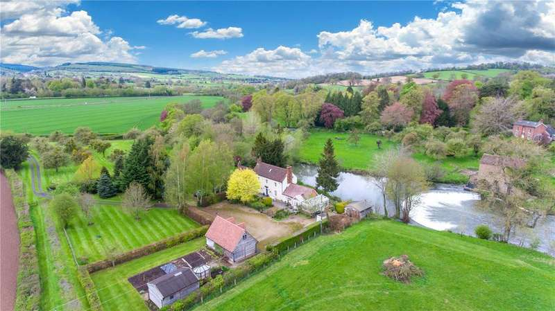 4 Bedrooms Detached House for sale in Ashford Bowdler, Ludlow, Shropshire