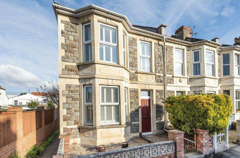 3 Bedrooms End Of Terrace House for sale in Cambridge Crescent, Bristol