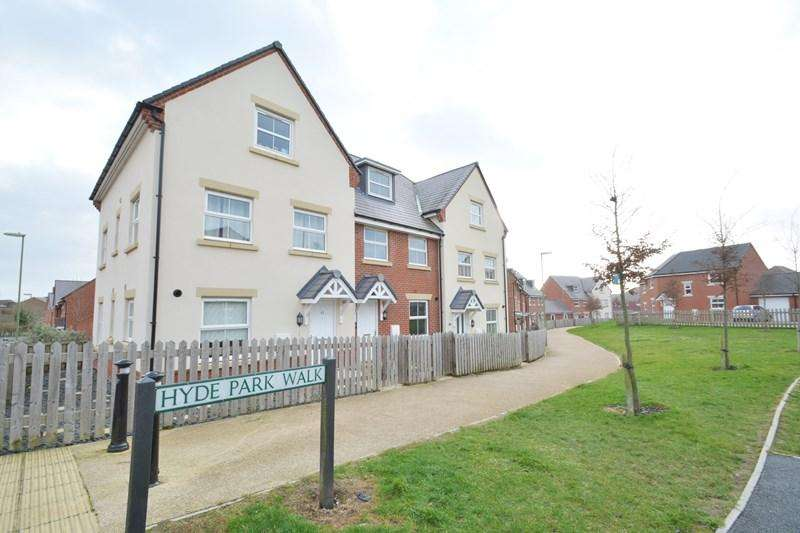 3 Bedrooms End Of Terrace House for sale in Hyde Park Walk, Andover
