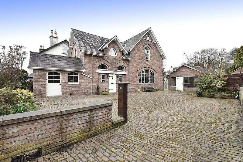 4 Bedrooms Detached House for sale in Park Lane, Macclesfield