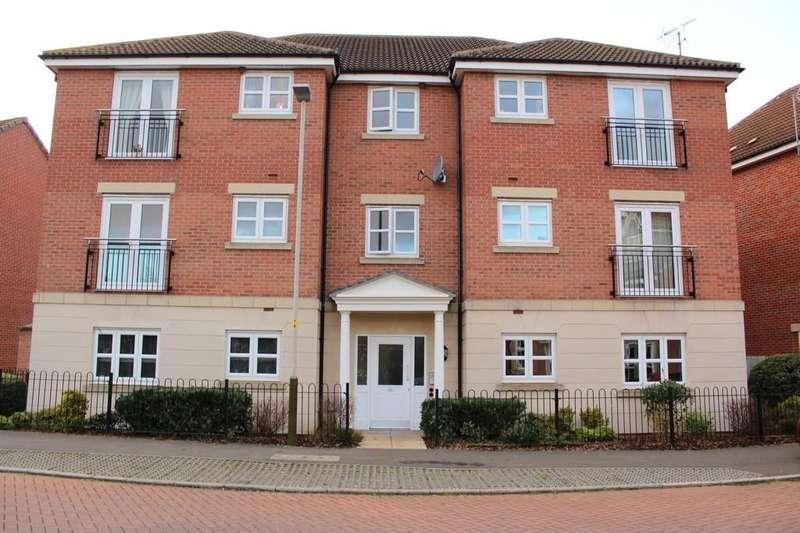 2 Bedrooms Apartment Flat for sale in Stillington Crescent, Hamilton, Leicester