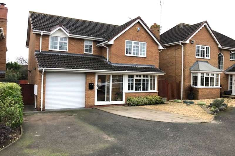 4 Bedrooms Detached House for sale in Marsh Avenue, Long Meadow, Worcester, WR4