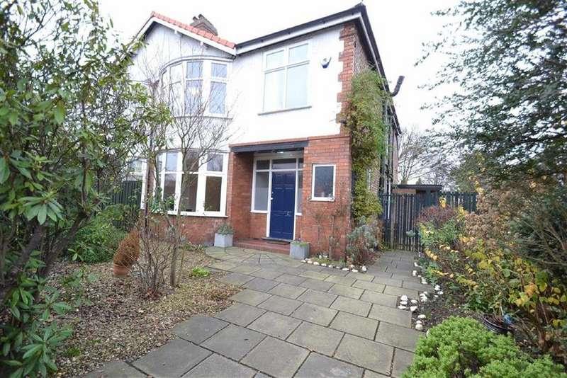 4 Bedrooms Semi Detached House for sale in Egerton Road North, Chorlton, Chorlton
