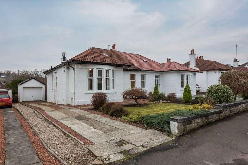 3 Bedrooms Semi Detached Bungalow for sale in 25 Lanfine Road, Paisley, PA1 3NJ