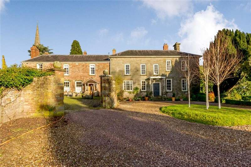 7 Bedrooms Detached House for sale in Goodrich, Ross-On-Wye, Herefordshire, HR9