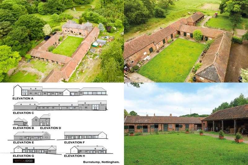 13 Bedrooms Barn Character Property for sale in Burnstump, Nottingham, Nottinghamshire