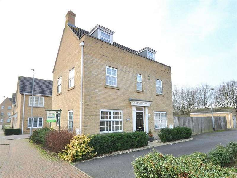 4 Bedrooms Detached House for sale in Howell Drive, Sapley, Huntingdon, Cambridgeshire
