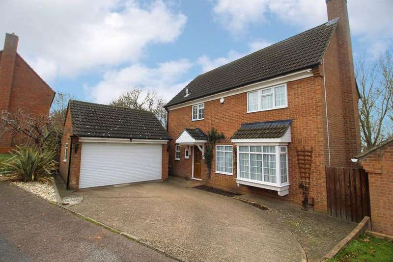 4 Bedrooms Detached House for sale in Marshall Close, Kempston, MK42
