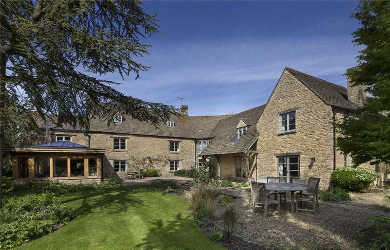 7 Bedrooms Detached House for sale in Bourton Road, Clanfield, Bampton, Oxfordshire, OX18