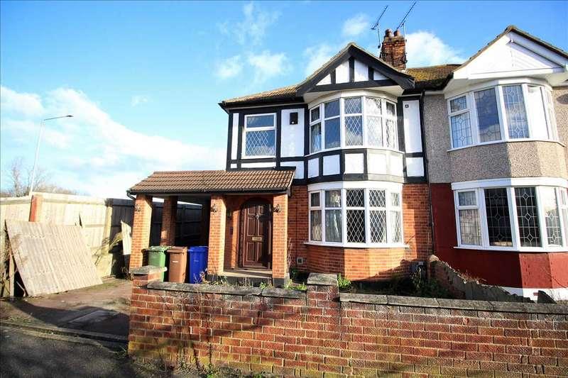 3 Bedrooms Semi Detached House for sale in Denecroft Gardens, Grays