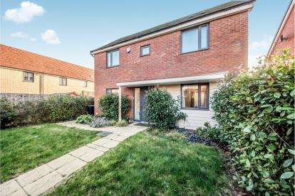 3 Bedrooms Detached House for sale in Ellis Close, Wootton, Bedford, Bedfordshire