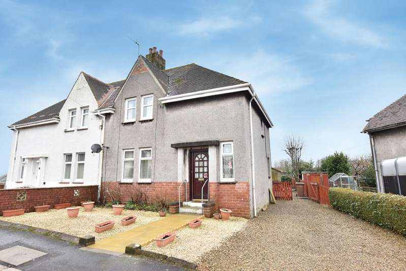 2 Bedrooms Semi-detached Villa House for sale in 5 Coral Hill, Maybole, KA19 7DZ