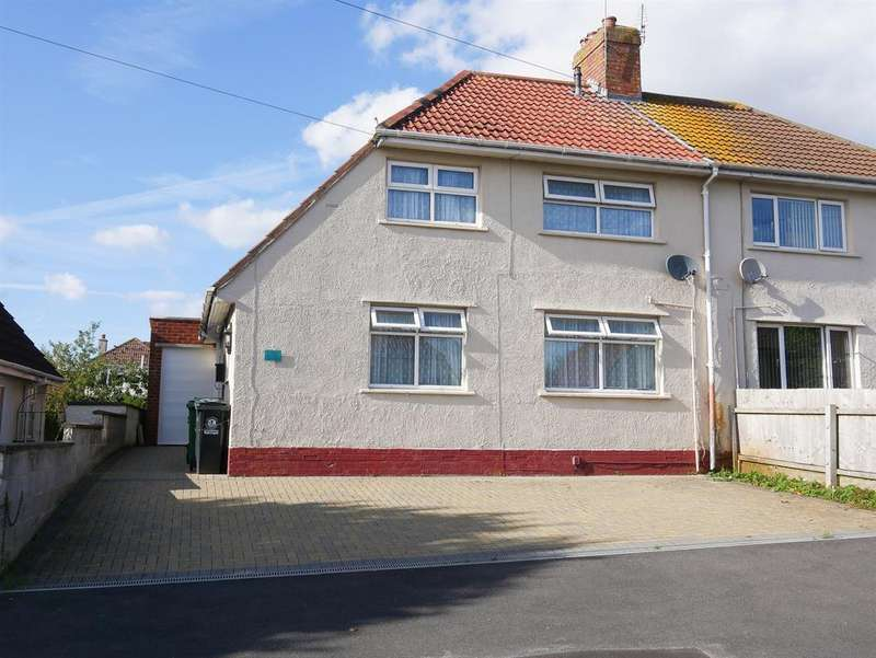 3 Bedrooms Semi Detached House for sale in Kingshill Road, Knowle Park, Bristol, BS4 2SN