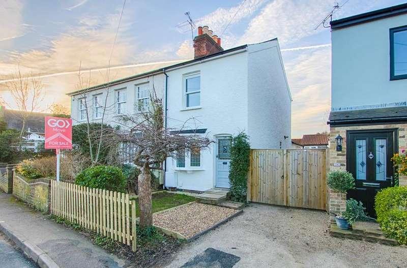 2 Bedrooms Semi Detached House for sale in Hertford Heath, Hertford