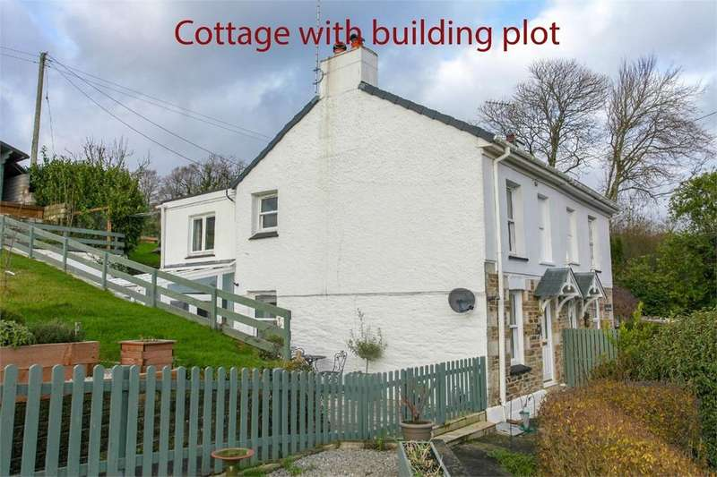 2 Bedrooms Semi Detached House for sale in Eden Cottages, Ladock, TRURO, Cornwall