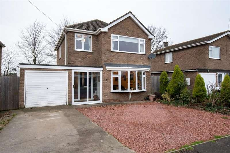 3 Bedrooms Detached House for sale in Lindum Way, Donington, Spalding, Lincolnshire