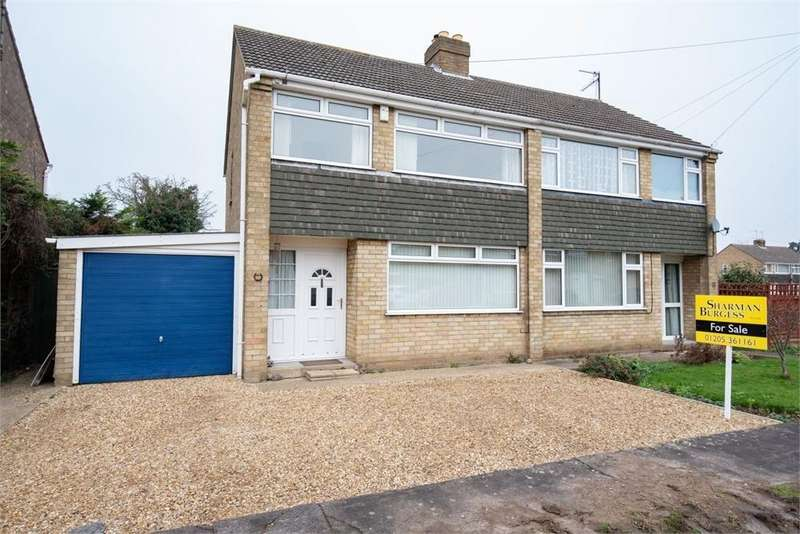 3 Bedrooms Semi Detached House for sale in Woodside, Boston, Lincolnshire
