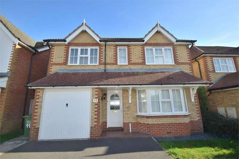 4 Bedrooms Detached House for sale in Lambourn Avenue, Stone Cross, Pevensey, East Sussex
