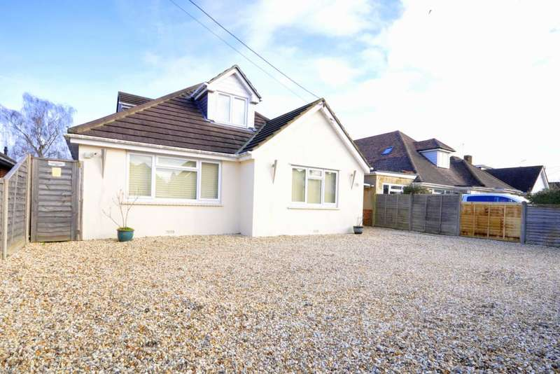 5 Bedrooms Detached Bungalow for sale in Highfield Drive, Ringwood, BH24 1RL