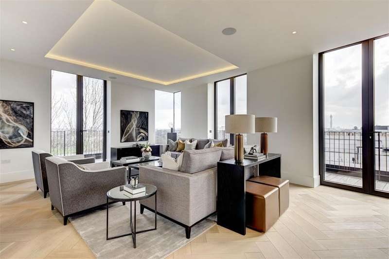 4 Bedrooms Apartment Flat for sale in St. Edmunds Terrace, St John's Wood, London, NW8