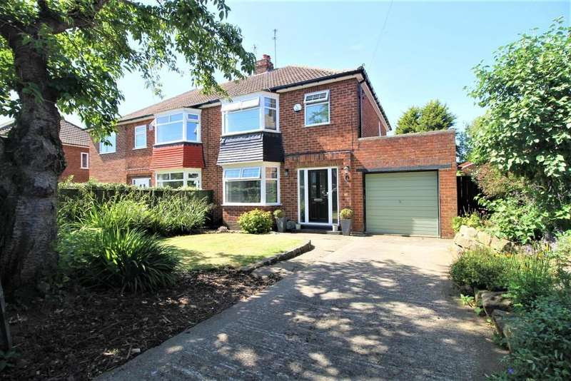 3 Bedrooms Semi Detached House for sale in Welburn Grove, Ormesby, Middlesbrough