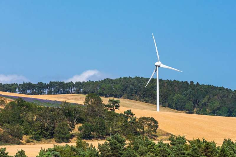 Land Commercial for sale in The Kilmany Wind Turbine, Wester Kilmany Farm, Kilmany, Cupar, Fife, KY15
