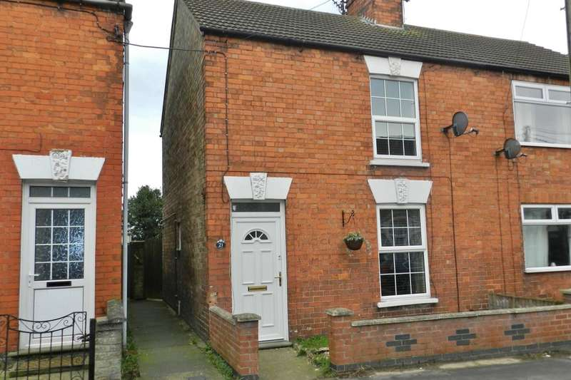 2 Bedrooms Semi Detached House for sale in Hamilton Road, Alford, LN13