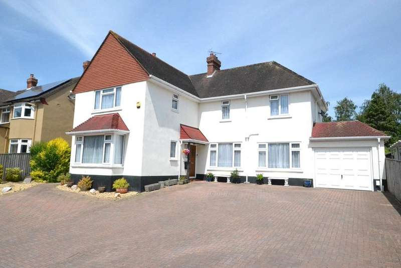 4 Bedrooms Detached House for sale in Countess Wear, Exeter, Devon