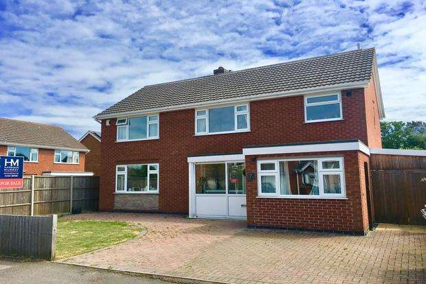 5 Bedrooms Detached House for sale in Worcester Drive, Melton Mowbray, LE13