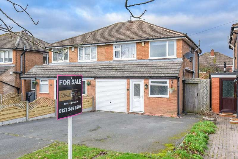 3 Bedrooms Semi Detached House for sale in Station Road, Wythall, B47