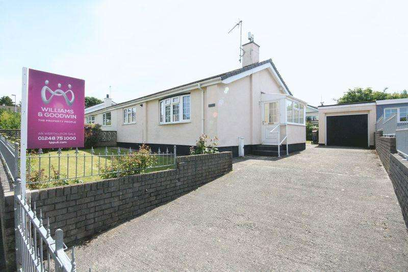 2 Bedrooms Semi Detached Bungalow for sale in Pentraeth, Anglesey