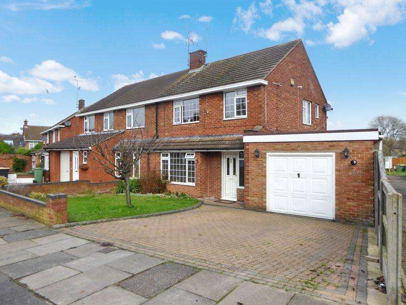 3 Bedrooms Semi Detached House for sale in Markham Crescent, Dunstable