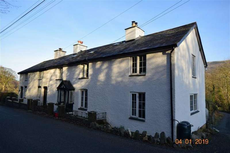 3 Bedrooms Semi Detached House for sale in Minffordd, Bontdolgadfan, Llanbrynmair, Powys, SY19