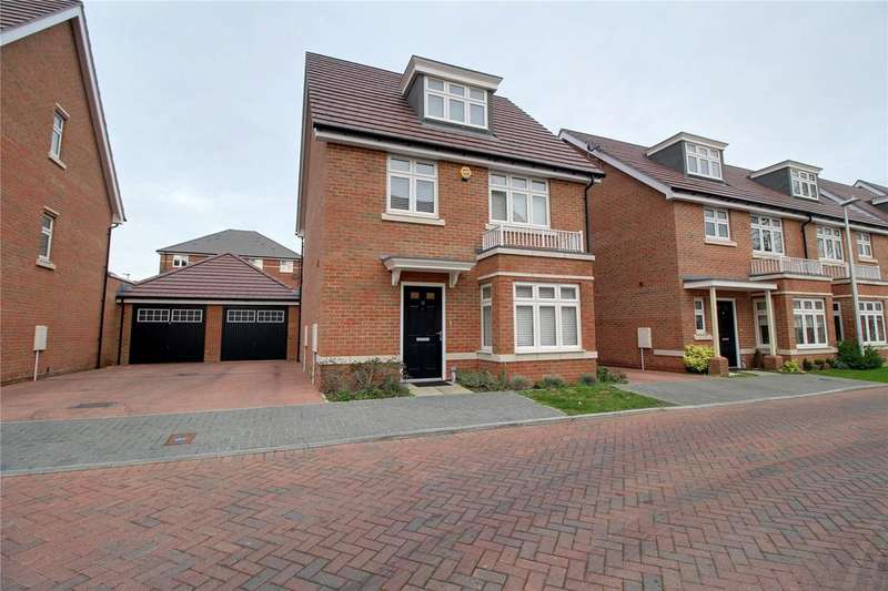 5 Bedrooms Detached House for sale in Tutor Crescent, Earley, Reading, Berkshire, RG6