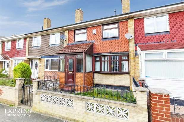 3 Bedrooms Terraced House for sale in Barholm Close, Middlesbrough, North Yorkshire