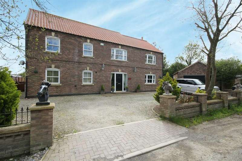 4 Bedrooms Detached House for sale in Hodgetoft Lane, Maltby Le Marsh,