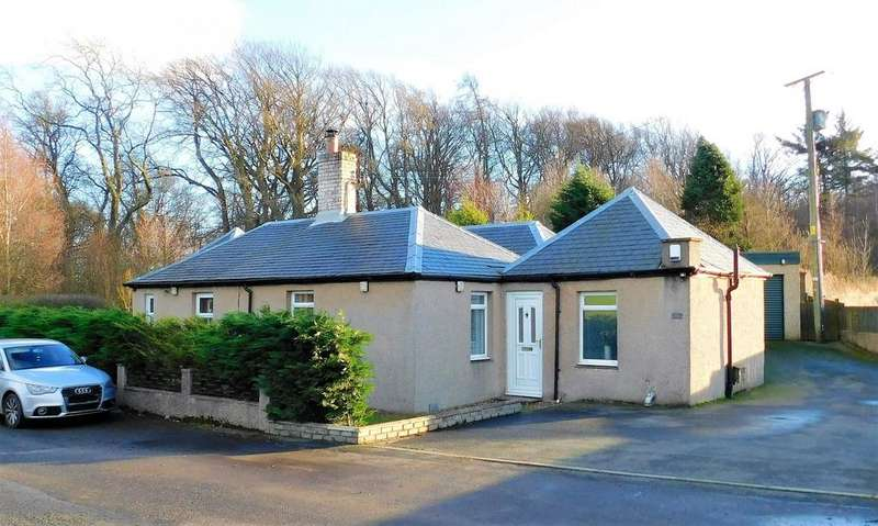3 Bedrooms Detached House for sale in Birch Cottage, Over Inzievar, Nr. Oakley, Dunfermline, Fife, KY12
