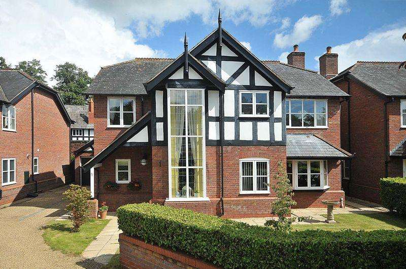 4 Bedrooms Detached House for sale in In secure gated grounds, sharing 14 acres of private parkland - Bostock Hall, Bostock
