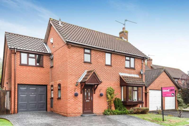 4 Bedrooms Detached House for sale in Cambridgeshire Close, Wokingham, RG41