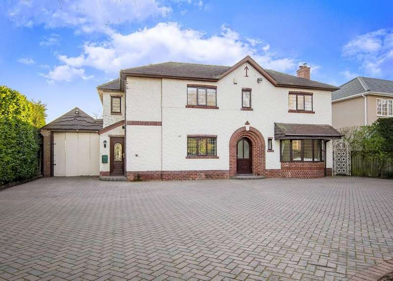 4 Bedrooms Detached House for sale in Warning Tongue Lane, Bessacarr, Doncaster