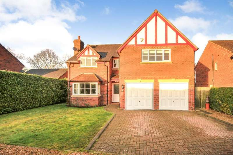 4 Bedrooms Detached House for sale in Causeway Close, Wellington, Hereford, HR4
