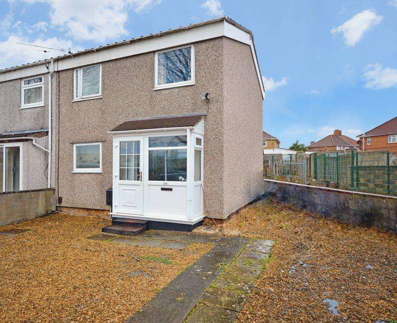 2 Bedrooms End Of Terrace House for sale in Creswicke Road, Bristol