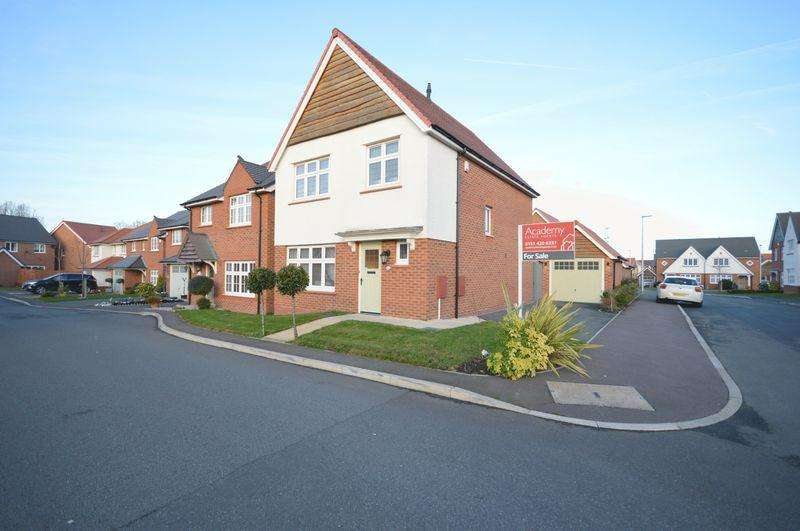 3 Bedrooms Detached House for sale in Bolingbroke Lane, Widnes