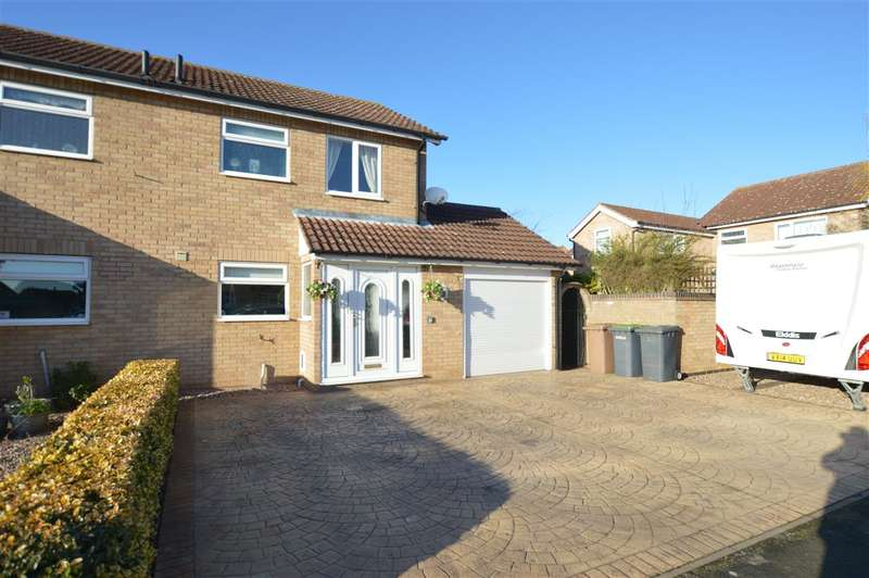 3 Bedrooms Semi Detached House for sale in Southfields, Sleaford