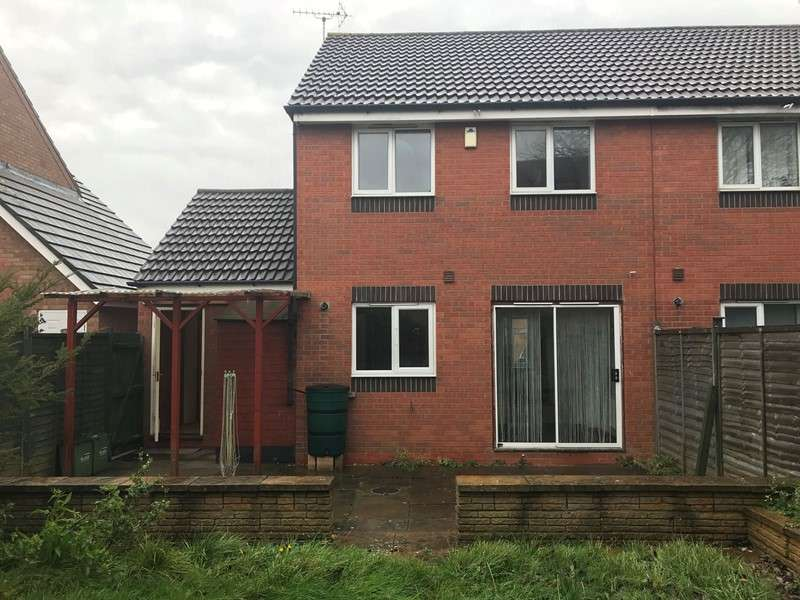 3 Bedrooms Property for sale in Darien Way, Braunstone, Leicester, Leicestershire, LE3 3TT