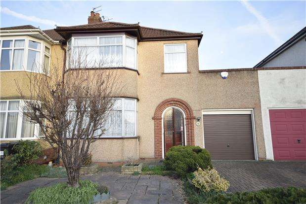 3 Bedrooms Semi Detached House for sale in Fouracre Road, BRISTOL, BS16 6PG